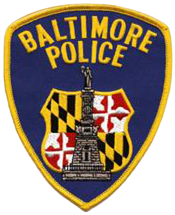 Baltimore Police Patch