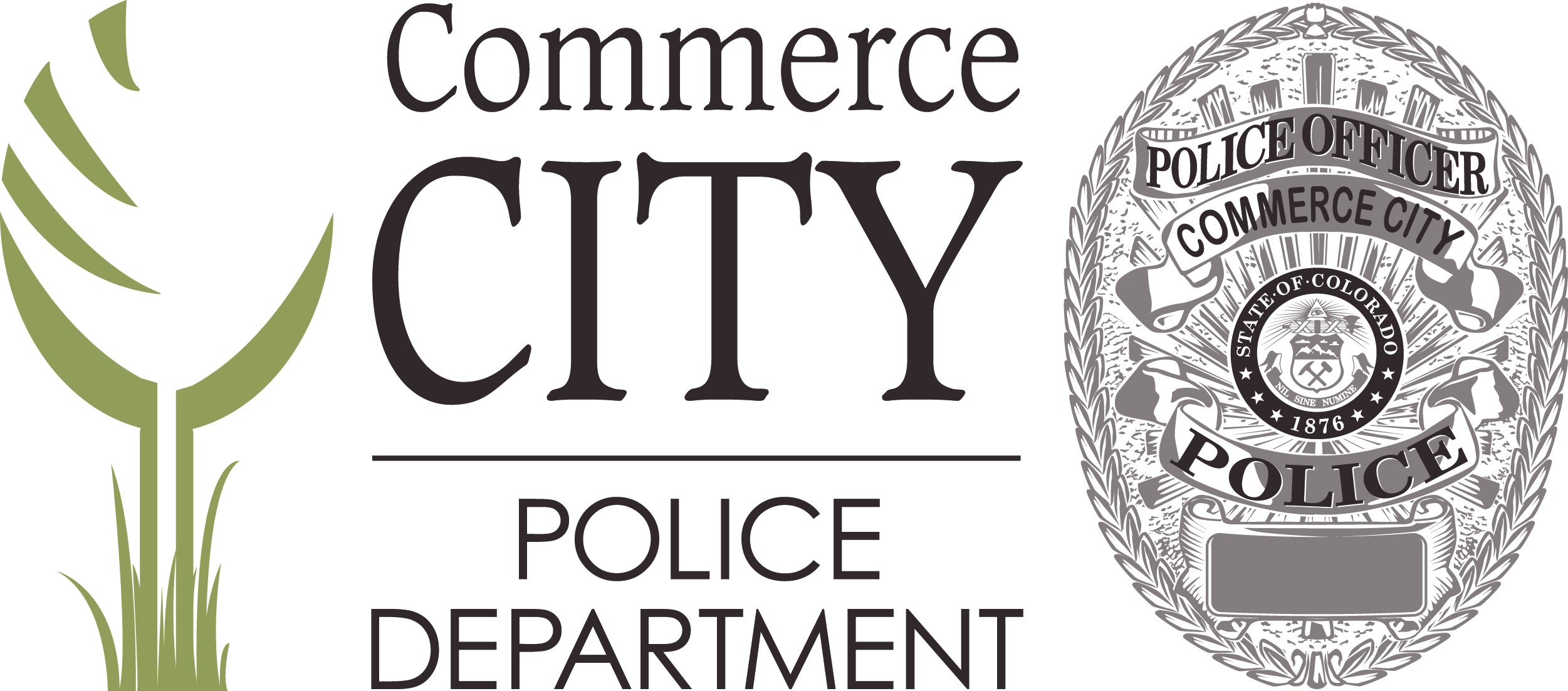Commerce City Police Badge and Logo