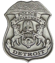 Detroit PD Badge