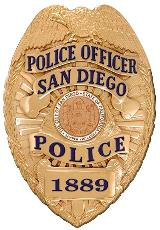 San Diego Police Badge