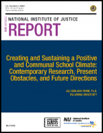 Creating a Communal School Climate Report Cover
