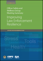 Improving LE Resilience Report Cover