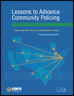 Lessons to Advance Community Policing Report Cover