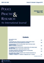 Police Practice and Research Cover