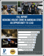 Reducing Violent Crime in American Cities Cover