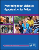 "First page of document ""Preventing Youth Violence: Opportunities for Action"""