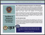 "First page of document ""The Effects of Adolescent Development on Policing"""