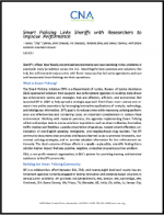"First page of document ""Smart Policing Links Sheriffs with Researchers to Improve Performance"""