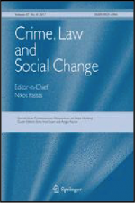 "Cover of ""Crime, Law and Social Change"""
