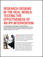 Testing IPV Intervention Cover