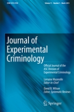 Journal of Experimental Criminology Cover