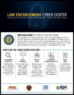 Law Enforcement Cyber Center Report Cover