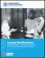 "First page of document ""Improving Information-Sharing Across Law EnforcemenCustom Notifications: Individualized Communication in the Group Violence Intervention"""