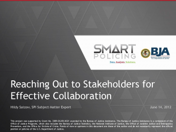 Effective Collaboration (June 2012) Webinar First Slide