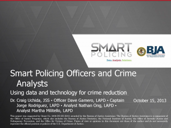 Smart Policing Officers Webinar First Slide