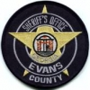 Evans County Sheriff Patch